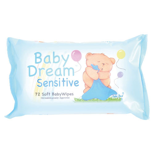 Baby Moist Wipes Pack 72