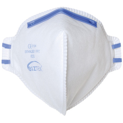 Biztex Dust Mist And Fume Respirator Pack 5