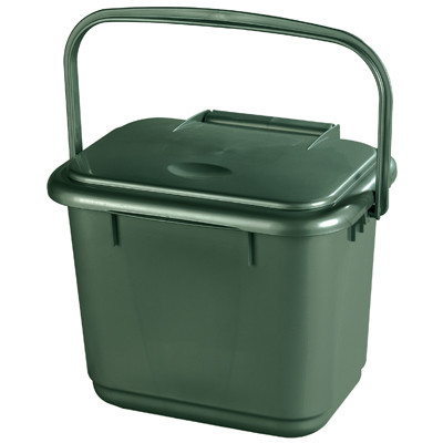 Compost Caddy Recycling Biin,  Each 5Ltr