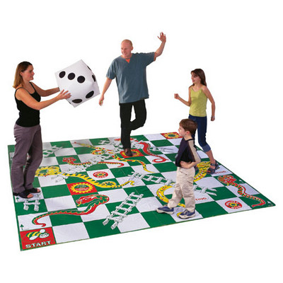 Giant Snakes & Ladders Assorted Each