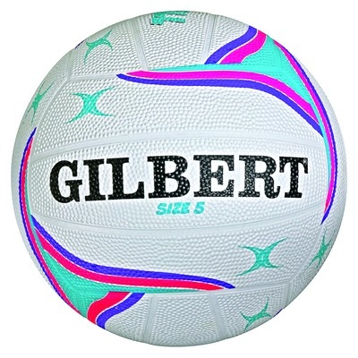 Gilber All Purpose Trainer Netball Pink Size 4