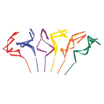Gym & Dance Ribbons Assorted Pack 6