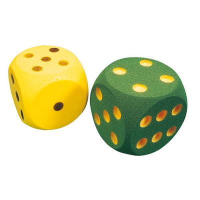 Dice, Foam Fun Play, Each