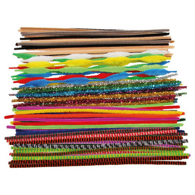 Jumbo Bag Pipe Cleaners Assorted Pack 250