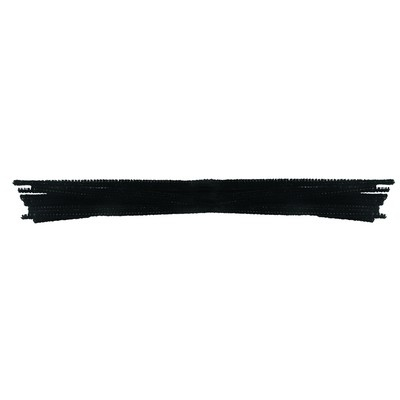 Black Pipe Cleaners 150mm Pack 100