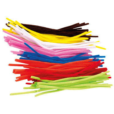Chenille Stems Pipe Cleaners Assorted Pack 100