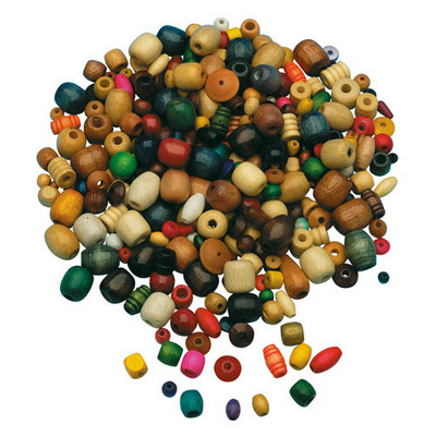Wooden Beads Assorted Set