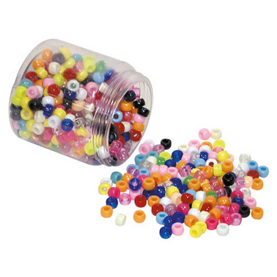 Barrel Beads Assorted Pack 500