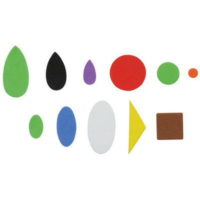 Craft Foam Shapes Assorted Pack 750