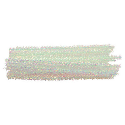 Iridescent Curly Stem Pipe Cleaners Iridescent Pack 50