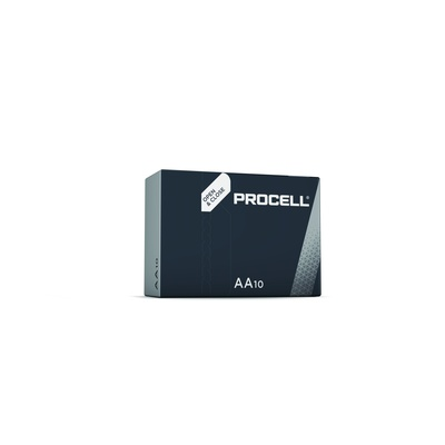 Battery, Duracell Procell pk 10, 1.5V, AA