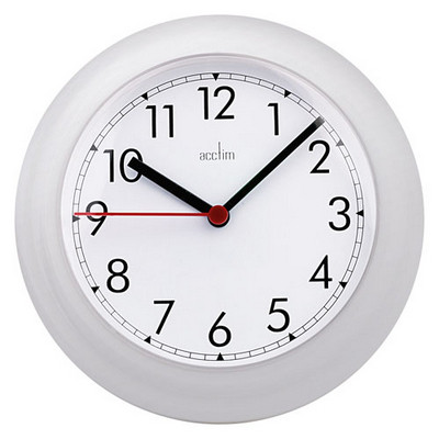 12 Hour Dial Clock 225mm Each
