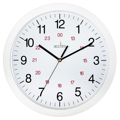 12 Hour Dial Clock 300Mm Each