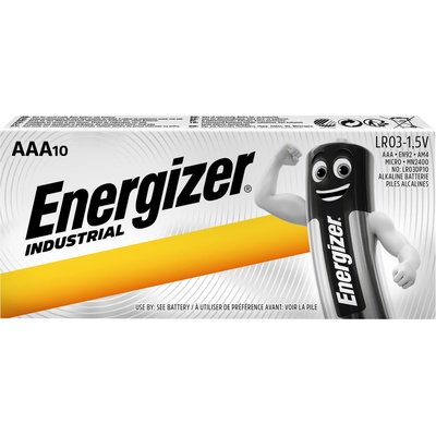 Battery, Energizer Industrial, PK10, 1.5V, AAA
