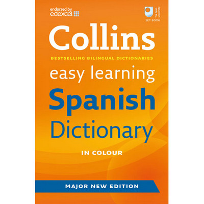 Collins Easy Learning Dictionary Spanish Orange Each