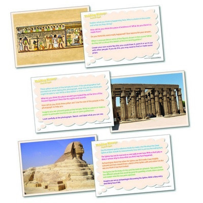 Ancient Egypt Thinking Cards Set 20