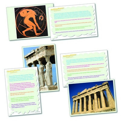 Ancient Greeks Thinking Cards Set 20