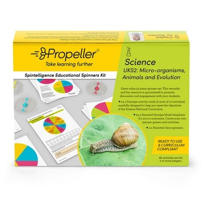 Spintelligence Kit, Micro -Orgnisms, Animals & Evo