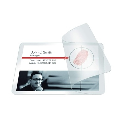 Laminating Cards Self Seal 54X86Mm Pack 10