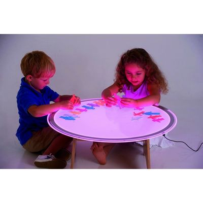 Colour Changing Round Light Panels Each