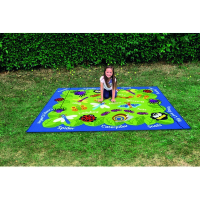 Back To Nature Outdoor Mat Mini Beasts Each