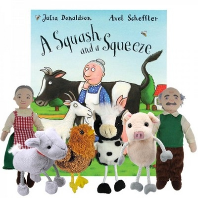 A Squash And A Squeeze Story Sack